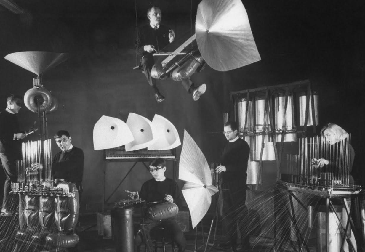 foto Baschet Orchestra voor Underbelly talks