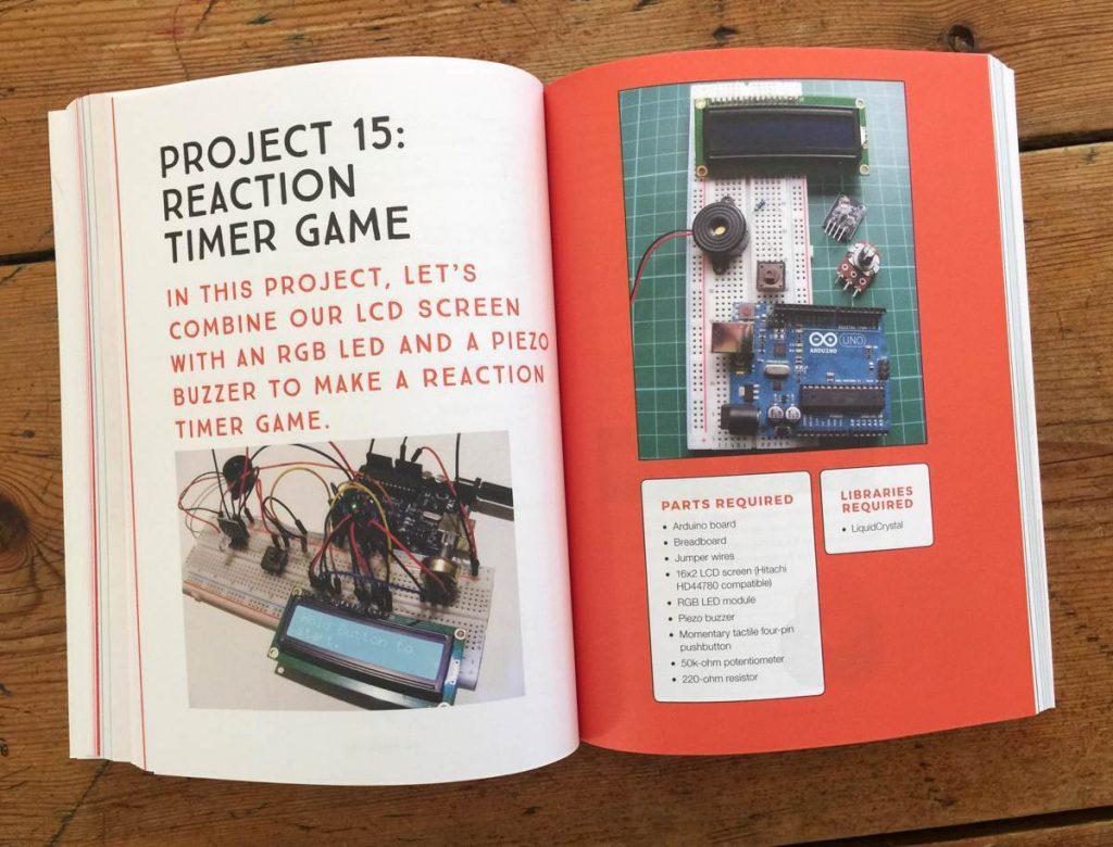 Arduino Project Handbook Underbelly Timer Based Projects Electronics Proojects Mark Geddes